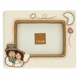 Newlyweds in love photo frame 7 x 10.5 cm