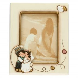 Newlyweds in love photo frame 12.2 x 17 cm