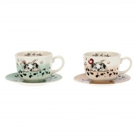 Set 2 big cups Dalmatian THUN Disney® Carica 101
