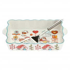 Big oven tray Folk with spatula