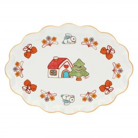 Big plate Folk