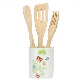 """Farfalle in Festa"" utensil jar"