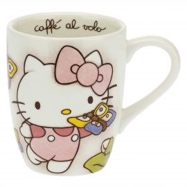THUN Hello Kitty® mug with butterflies