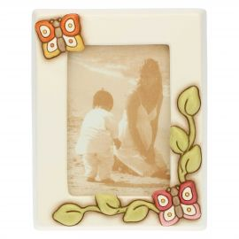 """Farfalle in Festa"" medium photo frame 13.6x9.2 cm"