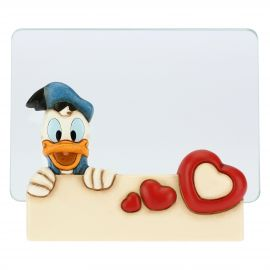 Medium THUN Disney® Donald Duck glass photo frame, format 10x15 cm