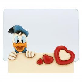 Medium THUN Disney® Donald Duck glass photo frame, format 10x15cm