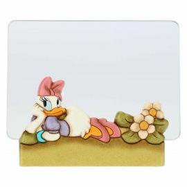 Medium THUN Disney® Daisy Duck glass photo frame, format 10x15cm