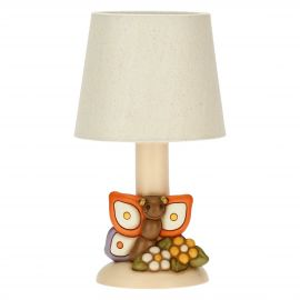 Table lamp with butterfly
