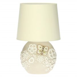 Prestige table lamp with butterfly