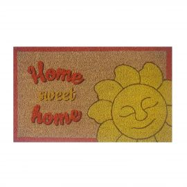Home Sweet Home doormat with sun