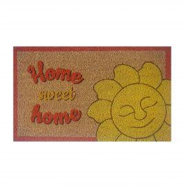 Fußabtreter Home sweet home mit Sonne