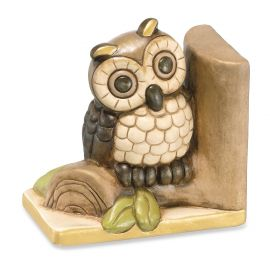 Bookends owl on branch