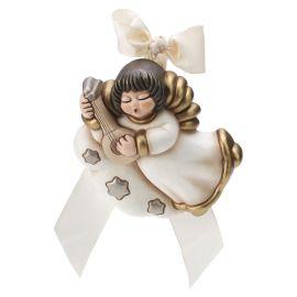 Wand-Engel mit Mandoline