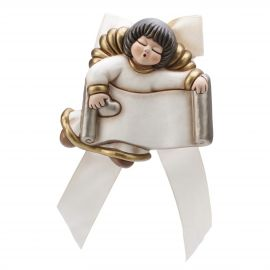 Angel with customizable nameplate