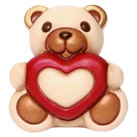 Teddy Max with heart