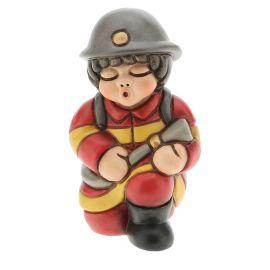 Bimbo pompiere piccolo
