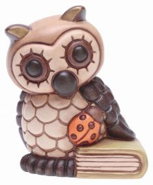 Owl with book
