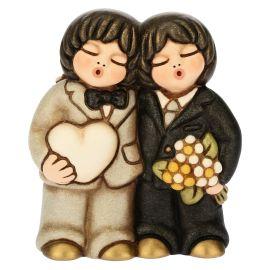 Newlyweds Couple Him und Him