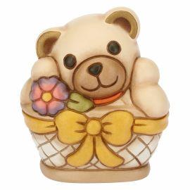 Teddy piccolo nel cesto
