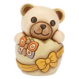 Teddy piccolo nell'uovo di pasqua