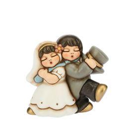 Newlyweds Couple Ironic Small
