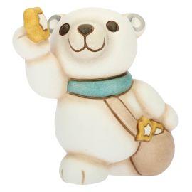 Small polar bear with stars
