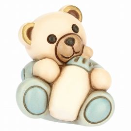 Boy Teddy with customizable bottle