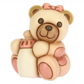 Girl Teddy with customizable bottle