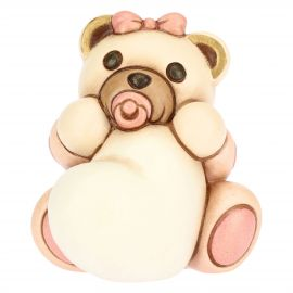 Girl Teddy with customizable heart