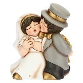 Coppia sposini maxi romantici
