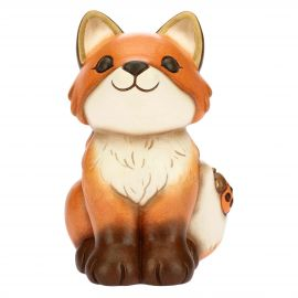 Medium sitting fox