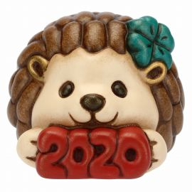 Hedgehog Happy New Year 2020