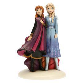 Coppia Anna & Elsa grande THUN DISNEY FROZEN 2