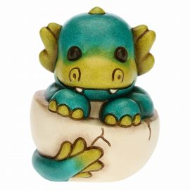 Green baby dragon