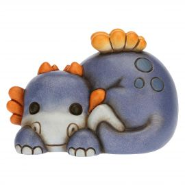 Cuddly blue baby dragon