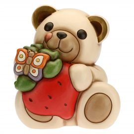 Maxi greedy Teddy with strawberry