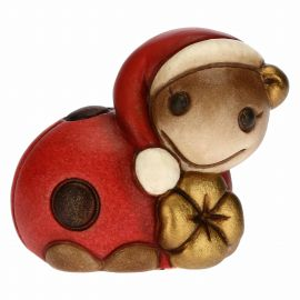 Lively Ella ladybird with lucky four-leaf clover