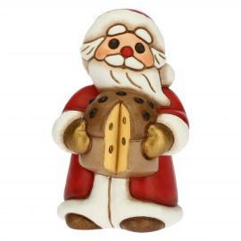 Father Christmas with panettone