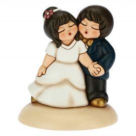 Tortenaufsatz Tanzendes Brautpaar