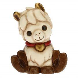 Llama with heart