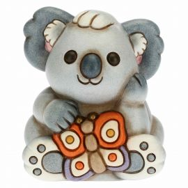 Koala Koki cub with butterfly