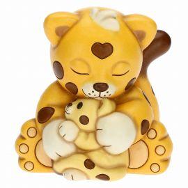 Dalì Leopard sweet hug with mum