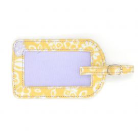 Little spot luggage tag allover butterfly
