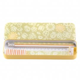 Pencil box set Sunflower