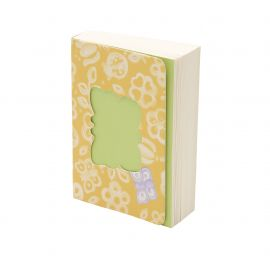 Memo pad allover butterfly