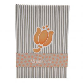 Notebook A5 allover tulip