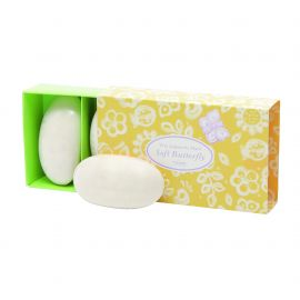 Soap set allover butterfly