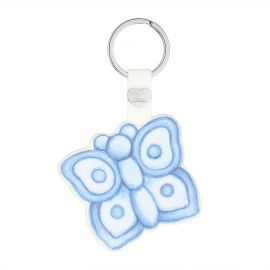 Keyrings Butterfly blue