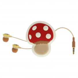 "Earphones with trousse ""Bosco incantato"""