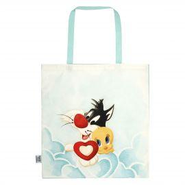 Shopper aus Stoff Tweety und Sylvester THUN Bros®
